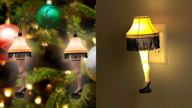 Leg Lamp Christmas Tree Lights And Nightlight