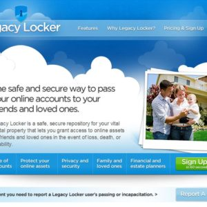 Legacy Locker Passes On Your Digital Assets To Your Beneficiaries When You Die