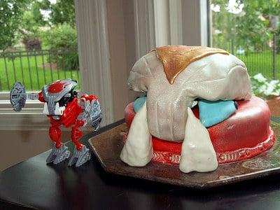 Lego Bohrok Cake