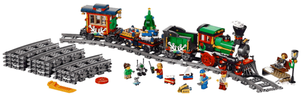 Lego Holiday Train