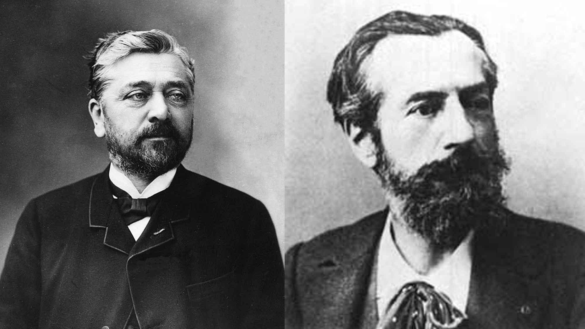 Gustave Eiffel & Frédéric Auguste Bartholdi