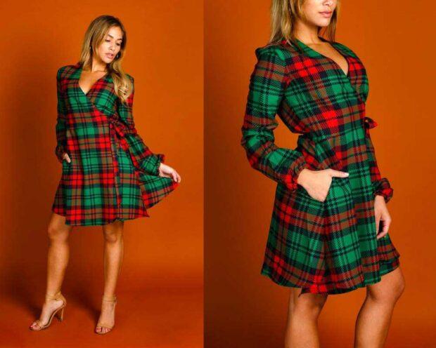 The Lincoln Log Sexy Christmas Dress