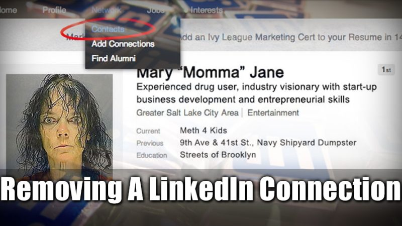 How To Remove a LinkedIn Connection