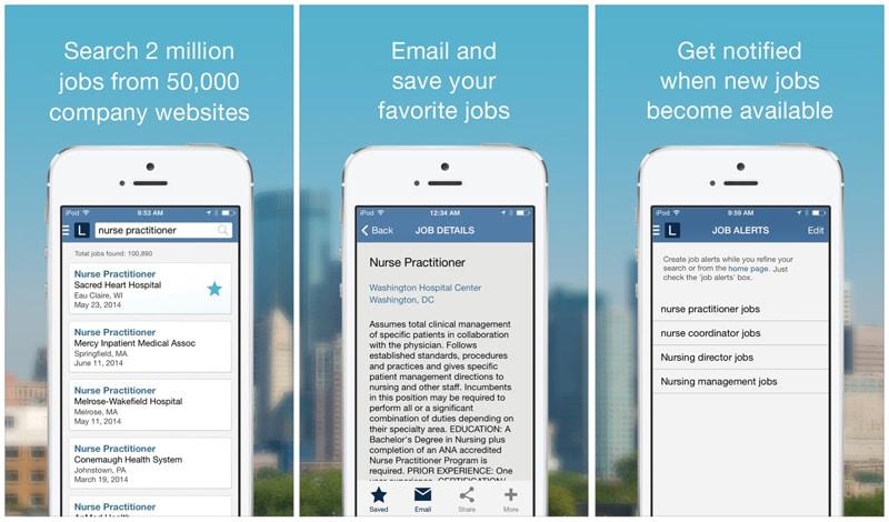 how to delete job apps