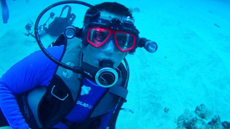 Liquid Image's Scuba Mask Camera