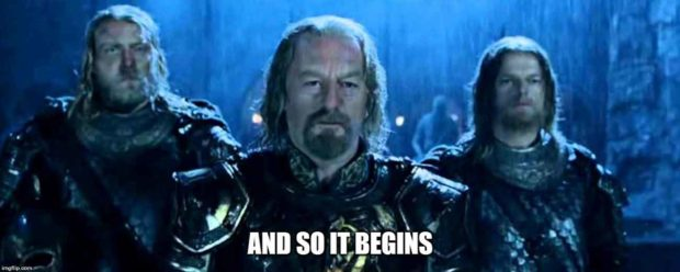 Lord Of The Rings Quotes: And So It Begins
