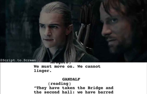 Legolas Lord Of The Rings Quotes