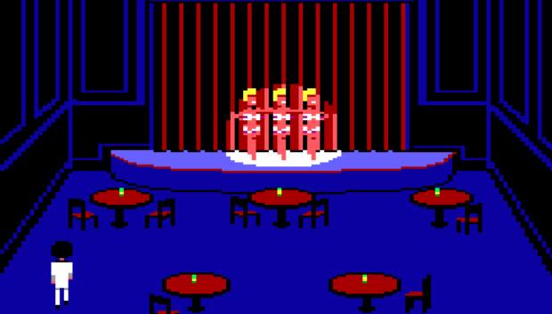 Leisure Suit Larry 1 - Casino Cabaret Dancers