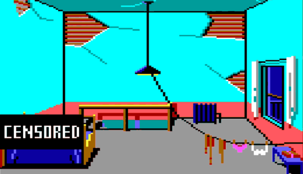 The Hooker's Bedroom - Leisure Suit Larry in The Land Of The Lounge Lizards
