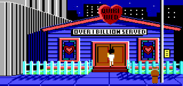 The Wedding Chapel In Leisure Suit Larry In The Land Of The Lounge Lizards