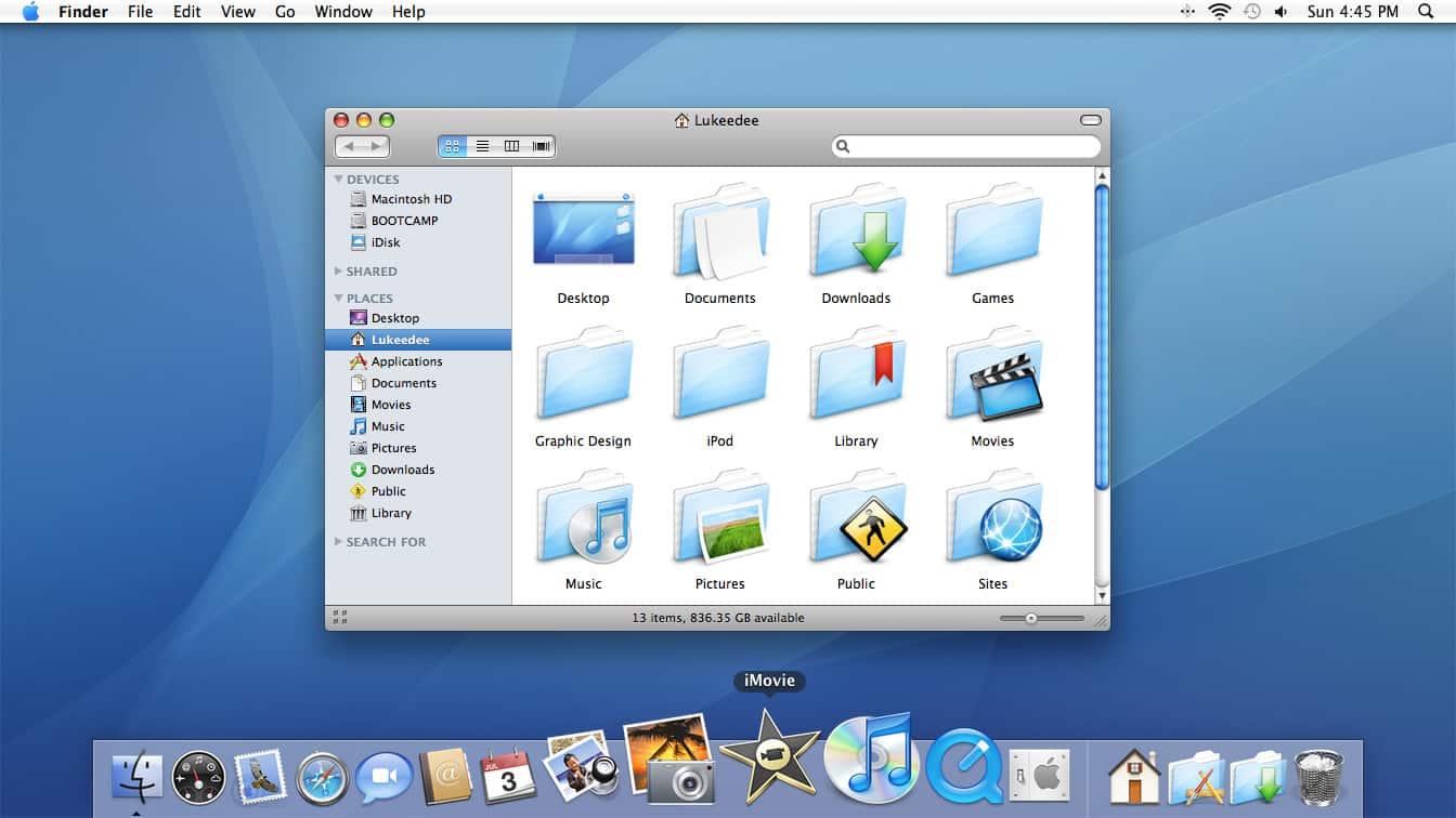 OS 10.4.11 MAC BOOTCAMP POUR TÉLÉCHARGER X