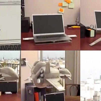MacBook Transforms Into A Spaceship In La Poste Viral Video Ad