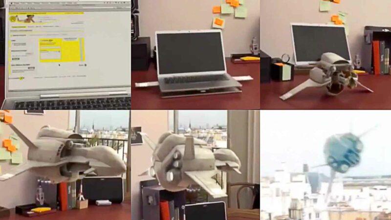 MacBook Transforms Into A Spaceship In La Poste Viral Video Ad