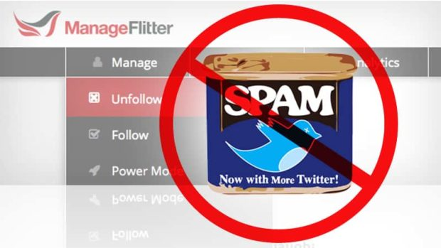 ManageFlitter - Bulk Unfollow Twitter Accounts