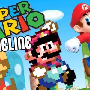 VIDEO: The Entire Nintendo Mario Game Series In Chronological Order