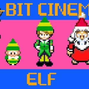 This 8-Bit version of the movie ELF will fill you with Christmas cheer!