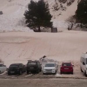 Oops! You Parked In Front Of An Avalanche.