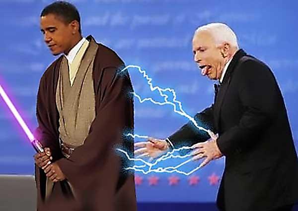 Obi-Wan Obama Vs Darth Mccain