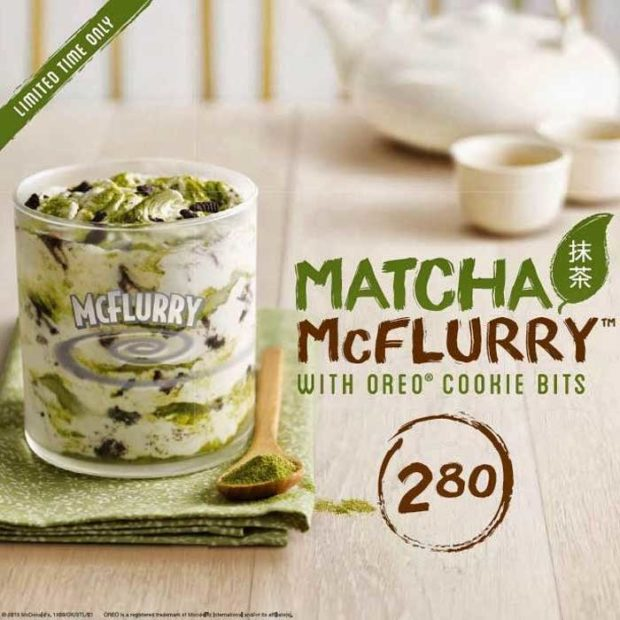 Matcha Oreo Mcflurry - Mcdonald'S Canada Menu