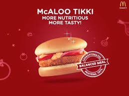 McAloo Tikki: McDonald's Menu