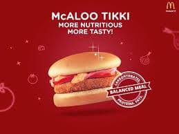 McAloo Tikki: McDonald's Menu