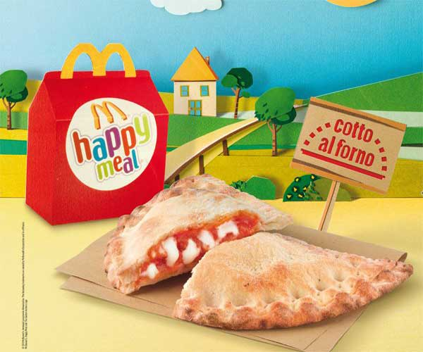 Pizzarotto: McDonald's Strange Menu