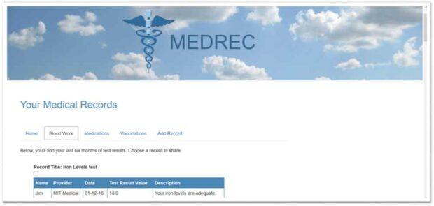 MedRec Blockchain