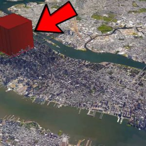 What If Everyone On Earth Lived Together In One Giant Building?