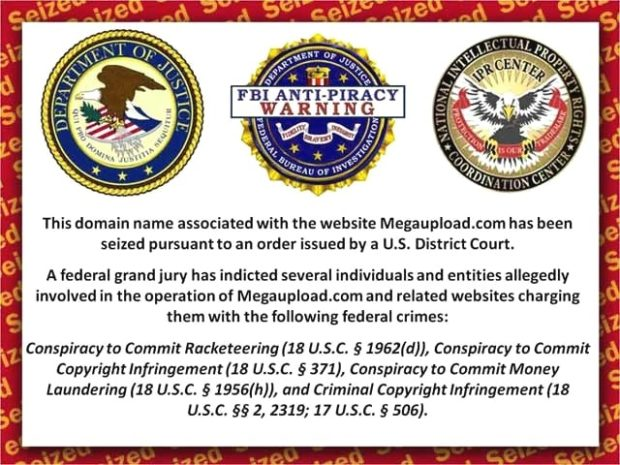 Megaupload vs FBI