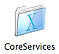 Mac Menu Items Coreservices