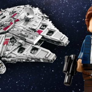 Do you have what it takes to build the Star Wars LEGO Millennium Falcon?