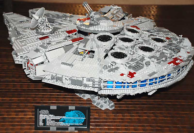 The Ultimate Collector's Millennium Falcon LEGO Set
