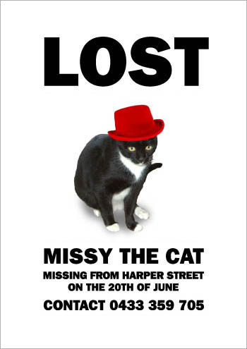 Missing Missy: Hat