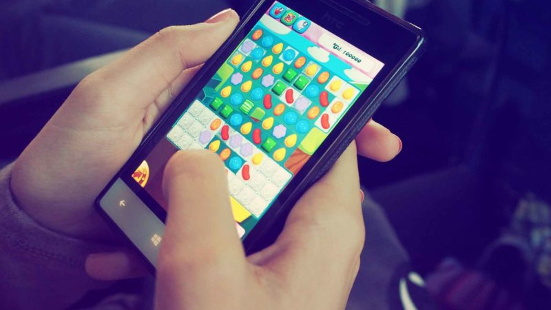 Mobile Gaming: Candy Crush
