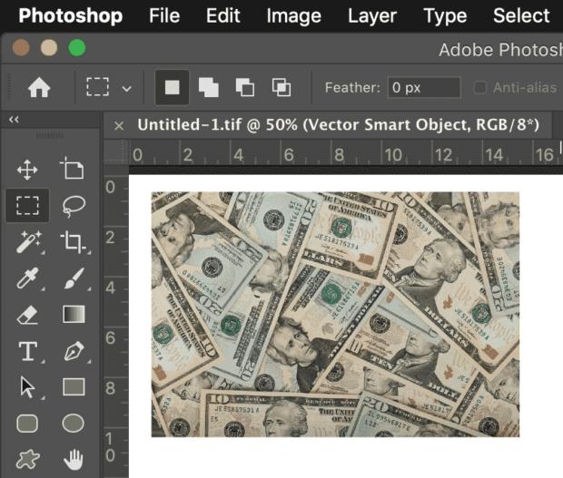 Photoshop Money