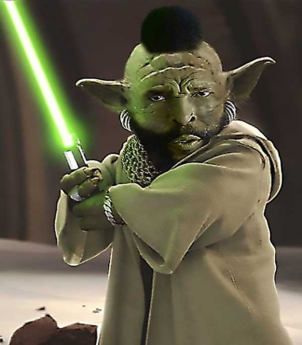 Mr. T Yoda (Mr. Toda) - Funny Star Wars Pictures
