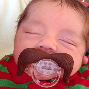The Mustachifier: A Hilarious Baby Mustache Pacifier