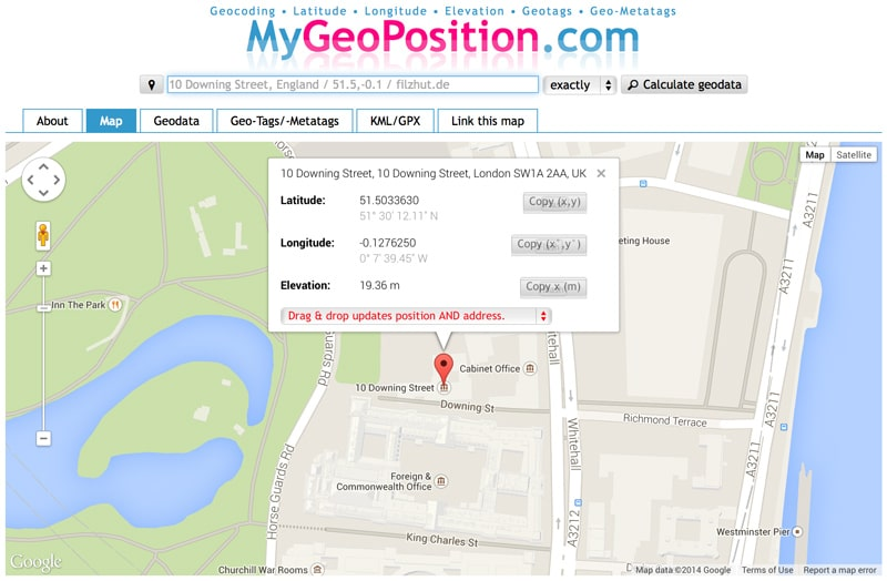MyGeoPosition