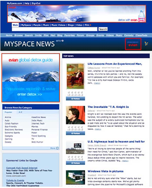 MySpace News
