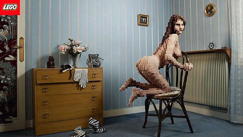 LEGO Porn: Photos Of Naked Women Made Out Of LEGO