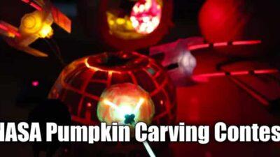 NASA Pumpkin Carving Contest