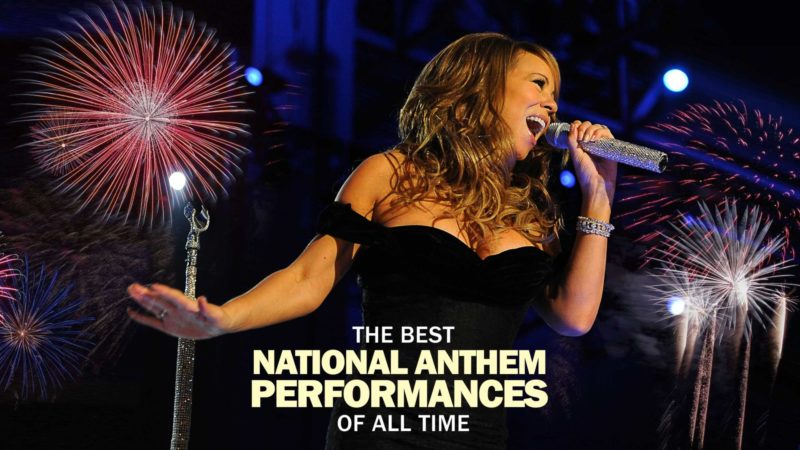 Best National Anthem Performances Of All Time