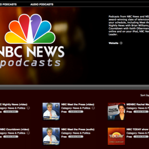 NBC News to Begin Podcasting