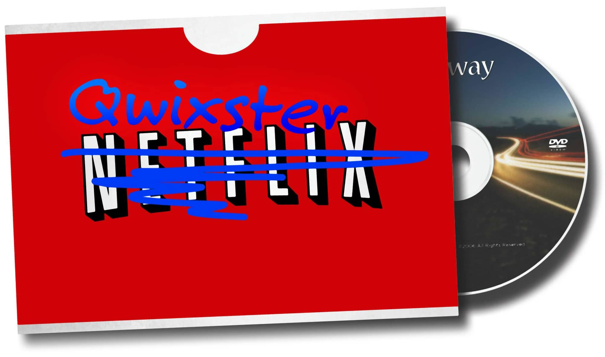 Netflix Qwikster DVD