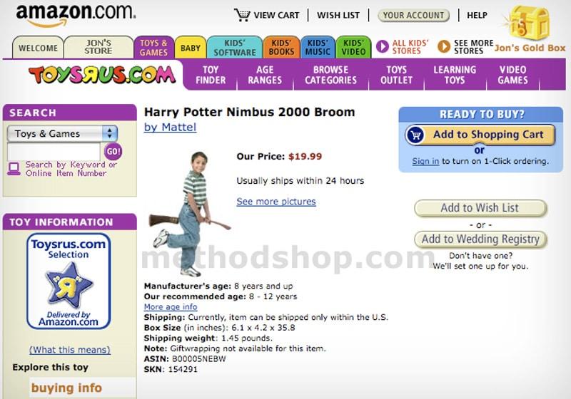 Nimbus 2000 on Amazon.com