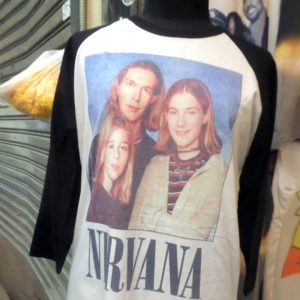 Rare Nirvana T-Shirt Found in Thailand