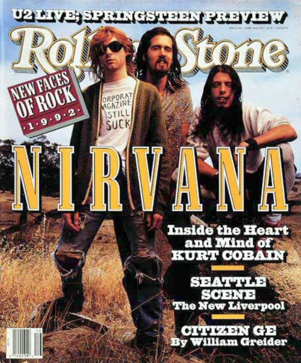 Nirvana - Rolling Stone (1992)