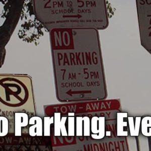 No Parking Ever! [pic]