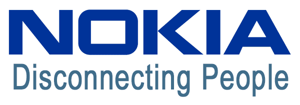 Nokia - Disconnecting People - New Logos For A Bad Economy
