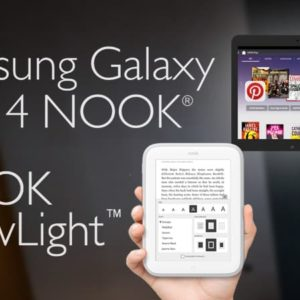 eBook Reader Comparison: Nook Glowlight vs Samsung Galaxy Tab 4 NOOK